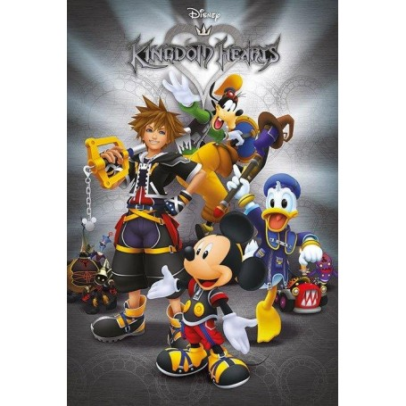 Kingdom Hearts poster Classic 61 x 91 cm