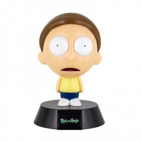 Rick & Morty veilleuse 3D Icon Morty 10 cm