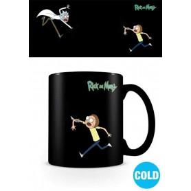 Rick et Morty mug effet thermique Portals