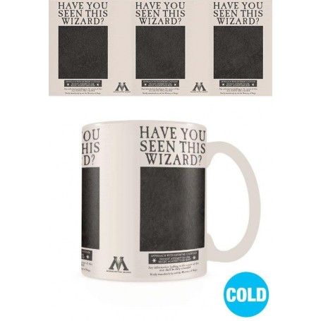 Harry Potter mug effet thermique Wanted Sirius Black