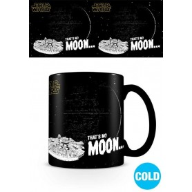 Star Wars mug effet thermique That's No Moon