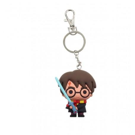 Harry Potter porte-clés caoutchouc Harry Potter et épée 7 cm