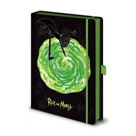 Rick et Morty carnet de notes Premium A5 Portal