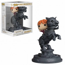 "Harry Potter - Funko POP! Movie Moments - 82 ""Ron Riding Chess Piece"""