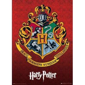 Harry Potter pack posters Metallic Hogwarts Crest 50 x 70 cm (5)