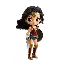 Justice League figurine Q Posket Wonder Woman A Normal Color Version 14 cm