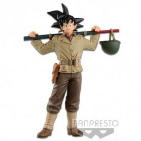 Dragonball - Figurine Son Goku Tenue de Soldat 18 cm