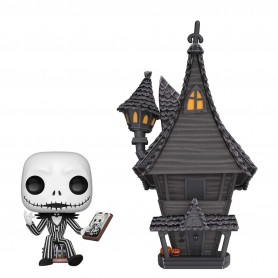 "L'Etrange Noël de Mr. Jack POP! Town - 07 ""Jack Skellington & Jack's House"""