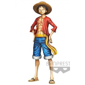 One Piece - Grandista - Grandline Men - Monkey D. Luffy - Manga Dimensions (27cm)