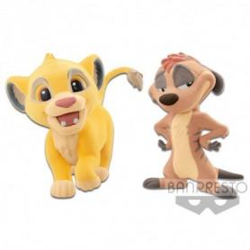 """Disney - Le Roi Lion - Fluffy Puffy - """"Simba & Timon"""""""