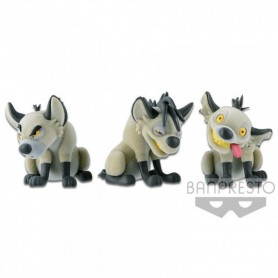 "Disney - Le Roi Lion - Fluffy Puffy - ""Banzai, Shenzi et Ed"""