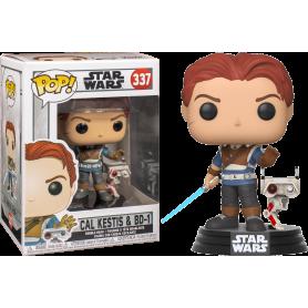 """Star Wars / Jedi : Fallen Order  - Funko POP!  337 """"Cal Kestis & BD-1"""""""