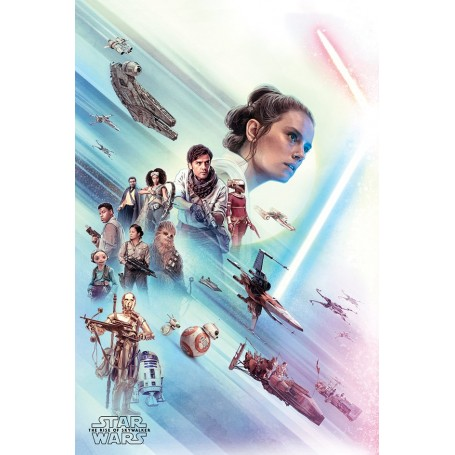 "Star Wars : The Rise of Skywalker - Poster 61x91cm - ""Rey"""