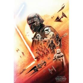 "Star Wars : The Rise of Skywalker - Poster 61x91cm - ""Kylo Ren"""