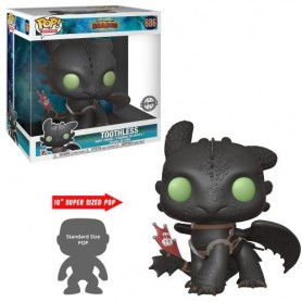 "Dragons - Funko POP! Movies - 686 ""Toothless 10"" Super Sized"""