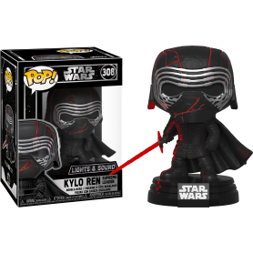 "Star Wars - Funko POP! Lights & Sound - 308 ""Kylo Ren Supreme Leader"""