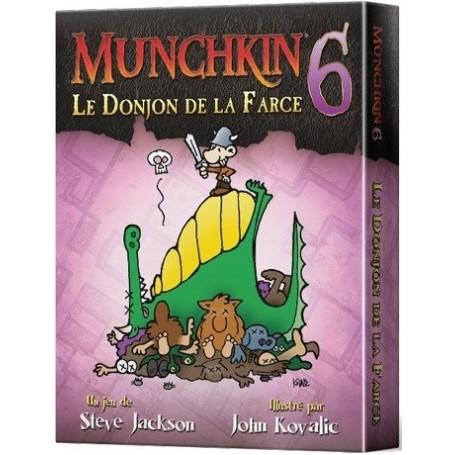 MUNCHKIN 6 : LE DONJON DE LA FARCE (FR)
