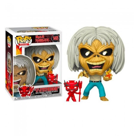 "Iron Maiden - Funko POP! Rocks - 145 ""The Number of the Beast Eddie"""