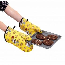 """Rick and Morty - Oven Glove set / Ensemble Manique - """"Szechuan Sauce"""""""