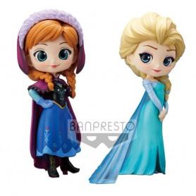 "Disney - Q Posket 2-Pack - ""Anna & Elsa"""