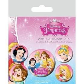 Badges Disney Princess