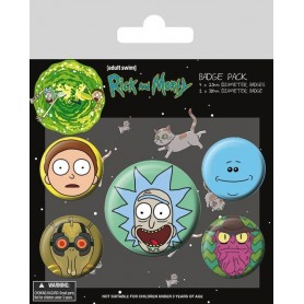 Badges Rick & Morty