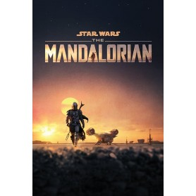 Star Wars : The Mandalorian Dusk Maxi poster