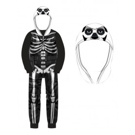 Fortnite Pyjama combinaison Skulltrooper