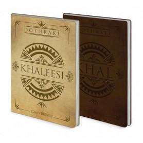 Game of Thrones - Lot 2 carnets Dothraki
