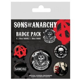Badges Sons of Anarchy