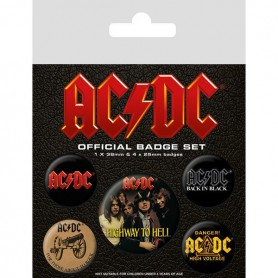 Badges ACDC