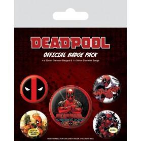 Badges Deadpool