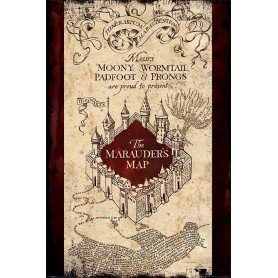 Poster Harry Potter The Marauders