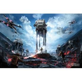 Poster Star Wars Battlefront