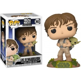 "Star Wars - Funko POP! - 363 ""Training Luke with Yoda"""