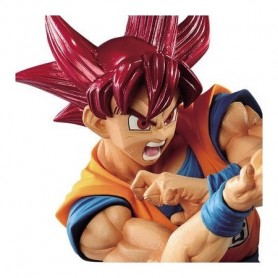 Dragon Ball Super - Figurine Son Goku SSJ God Blood of Saiyans Special VI