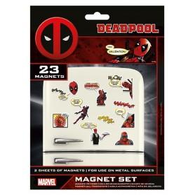 Marvel Comics - Deadpool Magnet Set