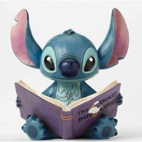"Disney Traditions - figurine Stitch ""Finding a family"" 14 cm"