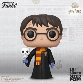 "Harry Potter - Funko POP SuperSized 18"" - 01 ""Harry Potter & Hedwige"""