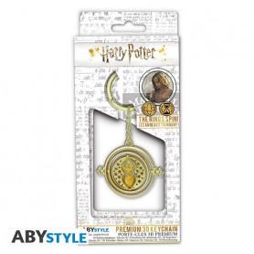 """HARRY POTTER - Porte-clés 3D premium """"Retourneur de temps"""""""