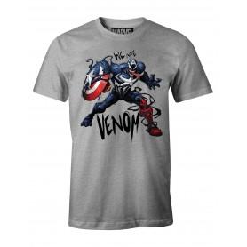 "Marvel - T-shirt Unisex - ""Captain America Venomized"""