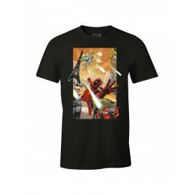 "Marvel - T-Shirt Unisex - ""Deadpool 3D"""