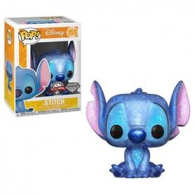 Disney - Funko POP! - N°159 Stitch Glitter Exclu 9cm