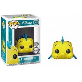 "Disney - Funko POP! - N°237 ""Flounder"" Glitter Exclu 9cm"