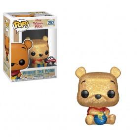 "Disney - Funko POP! - N°252 ""Winnie the Pooh"" Glitter Exclu 9cm"