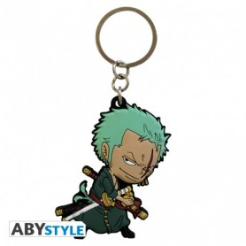 "ONE PIECE - Porte-clés PVC ""Zoro SD"""