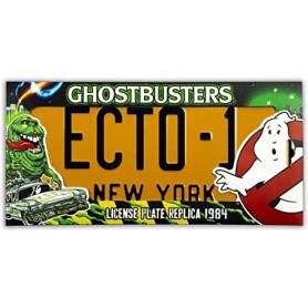 Ghostbusters Plaque Ecto 1