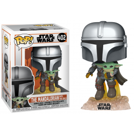 POP Star Wars 402 The Mandalorian with the Child