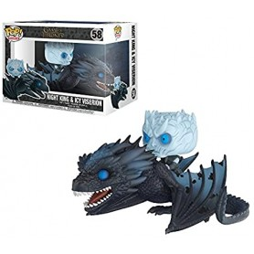 Pop 58 Game of Thrones Rides Night King on Viserion