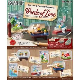 Snoopy Terrarium Worlds of Love (modèle aléatoire)